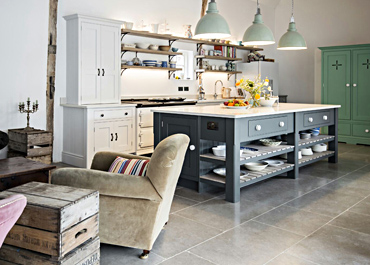 Blewbury House Freestanding Kitchen & Island
