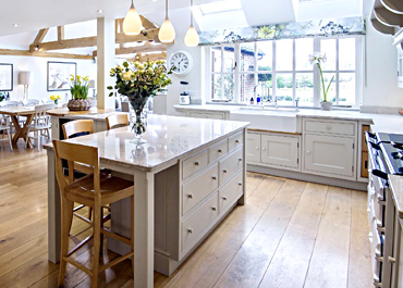 Oxfordshire Home Contemporary Farmhouse Kitchen