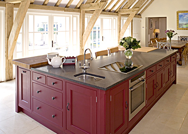 The Red Barn Contemporary Country Kitchen