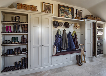Warwickshire Country House Boot Room