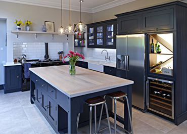 Wilmslow Residence Hand Painted Shaker Kitchen
