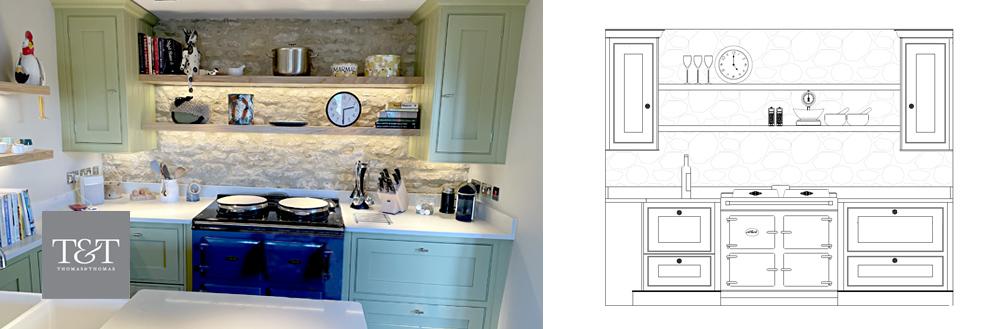 Luxury Cottage Kitchen Design